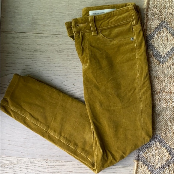 Anthropologie Pants - Pilcro High Rise Skinny Cords